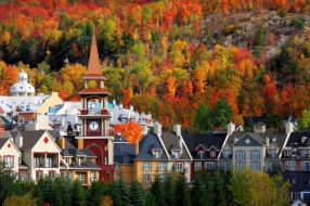 Village of Mont Tremblant, Quebec, Canada
